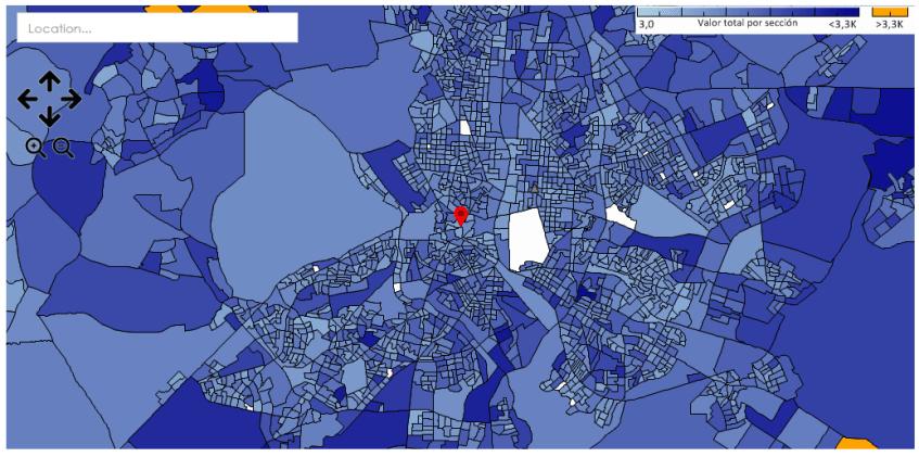 ITELLIGENT_Geomarketing_zonas por cada target_Madrid.