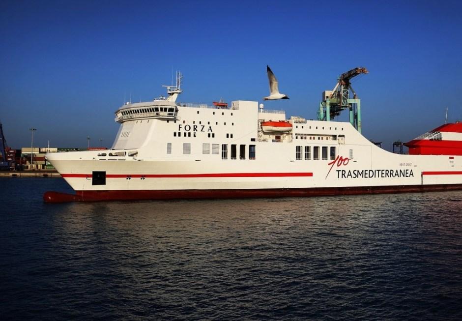 Trasmediterranea desposita su confianza en ITELLIGENT