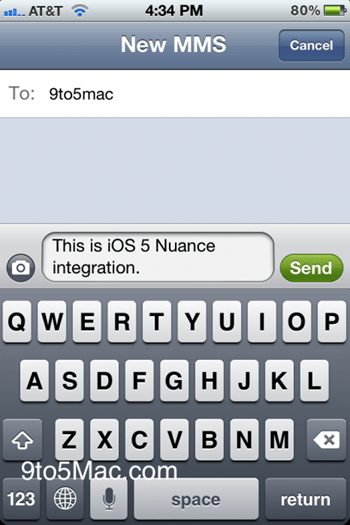 Nuance Speech-To-Text