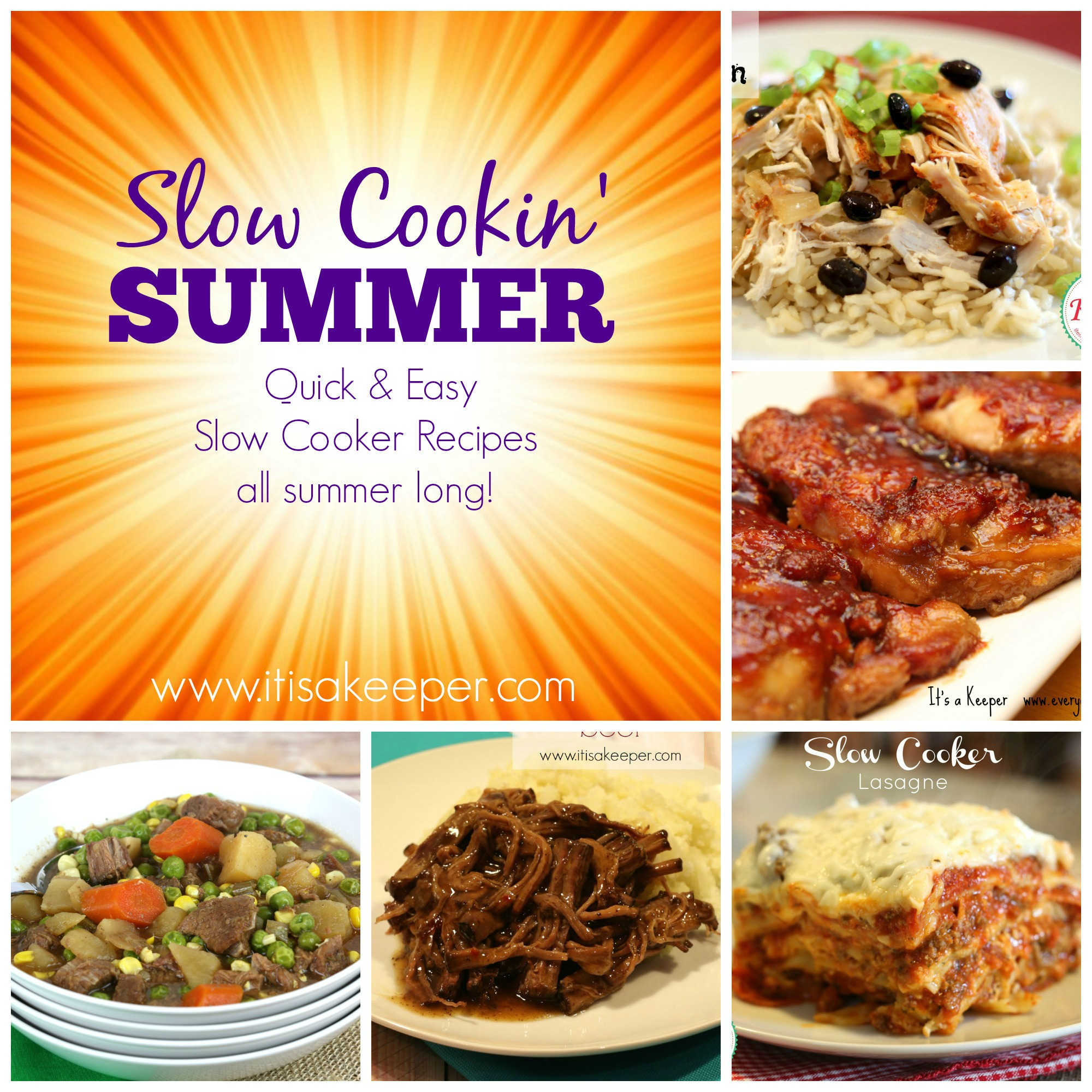 Regaling Slow Cookin Summer Collage Final Summer Slow Cooker Recipes Australia Summer Slow Cooker Recipes Nz nice food Summer Slow Cooker Recipes