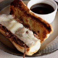 Summer Crock Pot French Dip Sandwiches