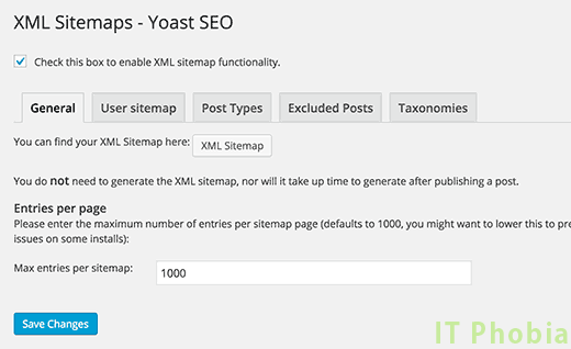 Yoast_XML-sitemsp_general