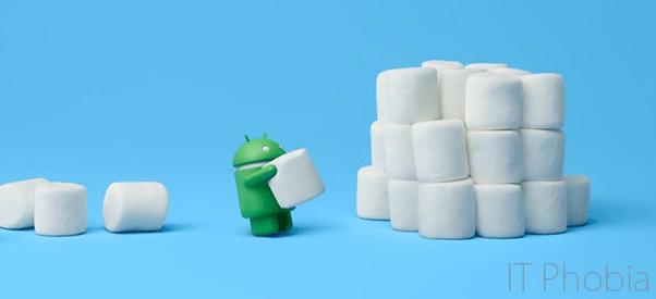 Android 6.0.1 Marshmallow intro