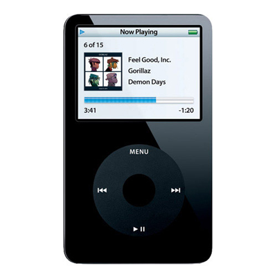Apple MA146LL-A iPod Black Video MP3 Player