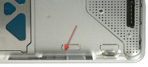 macbook Pro Seriennummer Batteriefach
