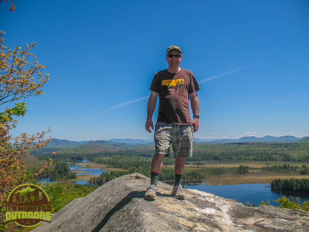 View from the Hitchins Pond Overlook is stunning! The second trip we made here, we actually hiked the Low's Ridge trail to the overlook. 2015 BOG RIVER FLOW
