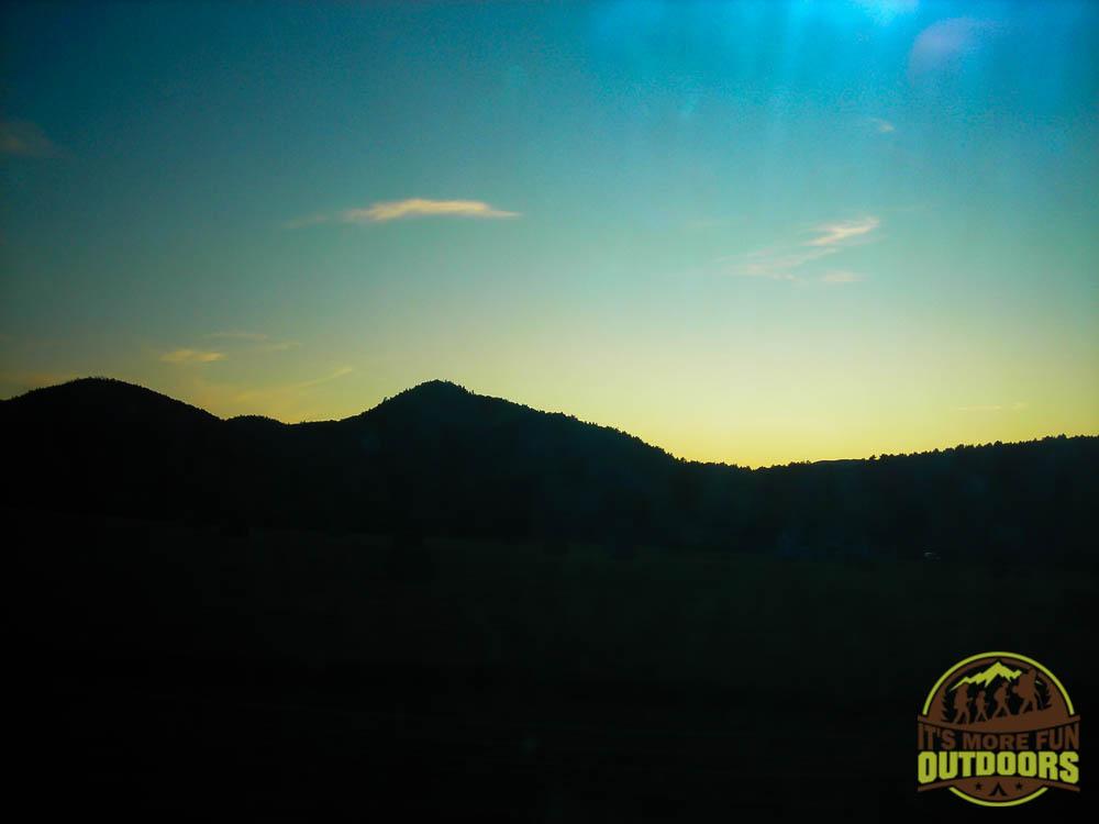 We got off the trail just as dark fell. 9/6/2009: Poke-O-Moonshine Hike, Adirondacks, NY