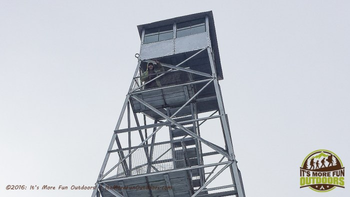 Our First Winter Fire Tower Challenge Hike: Red Hill in the Catskills!