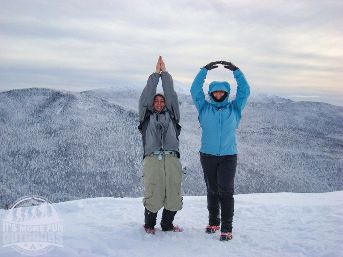 Phelps Mountain: a Beautiful Adirondack High Peak Winter Hike!