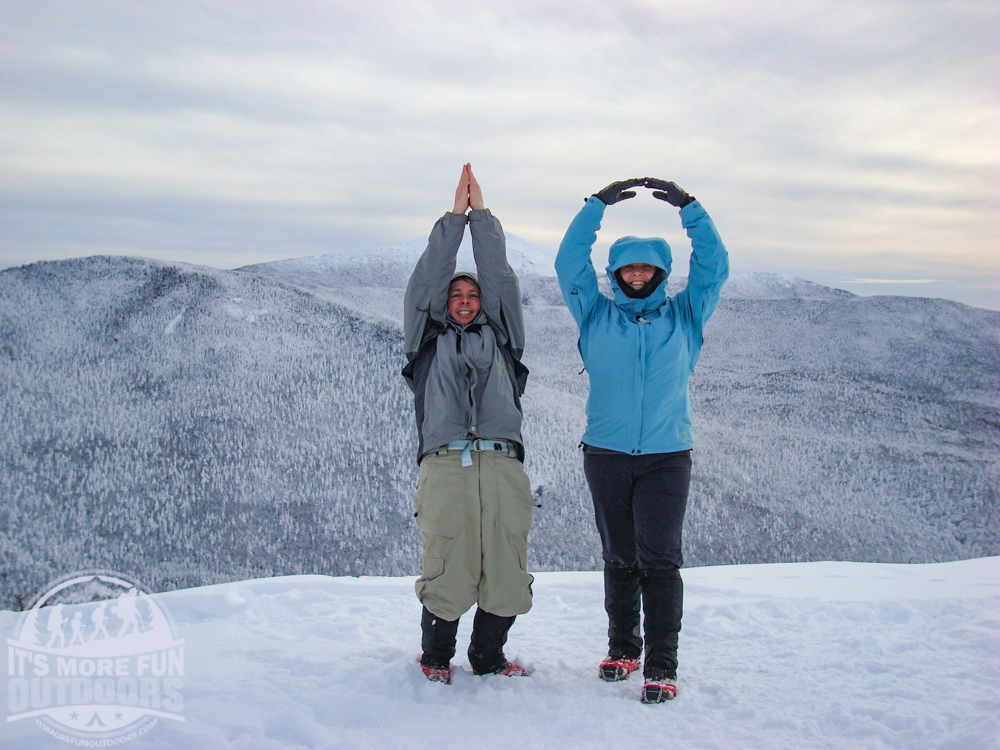 HA! Our tenth 46'r! 12/26/2010: Winter Climb of Phelps Mountain in the Adirondacks!