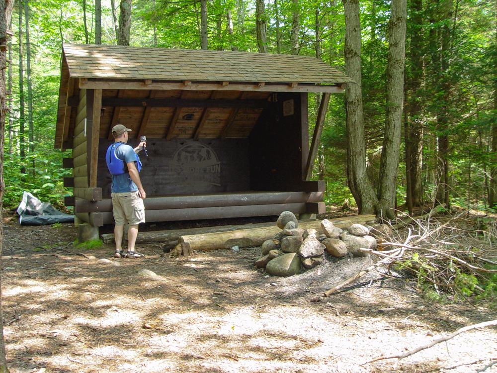 The Henderson Lake lean to. Henderson Lake Kayak Camping, Tahawus Hike!