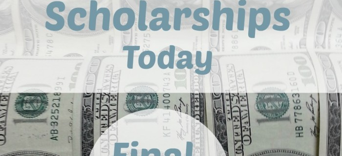 August Scholarship Opportunities – Week Four