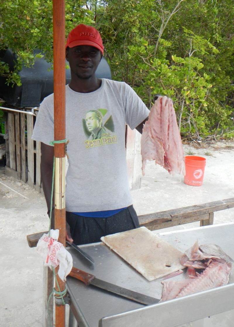 The Fish Guy and Grilled Caribbean Spiny Lobster
