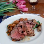 Bulgur Pilaf and a Spring Feast for Mother's Day