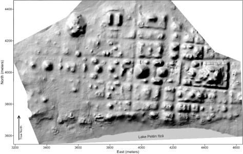 Nixtun-Ch'ich', Shadow Map, December 2014