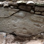 Zacpeten, Structure 601, East Wall, Stela 4, Photo 2