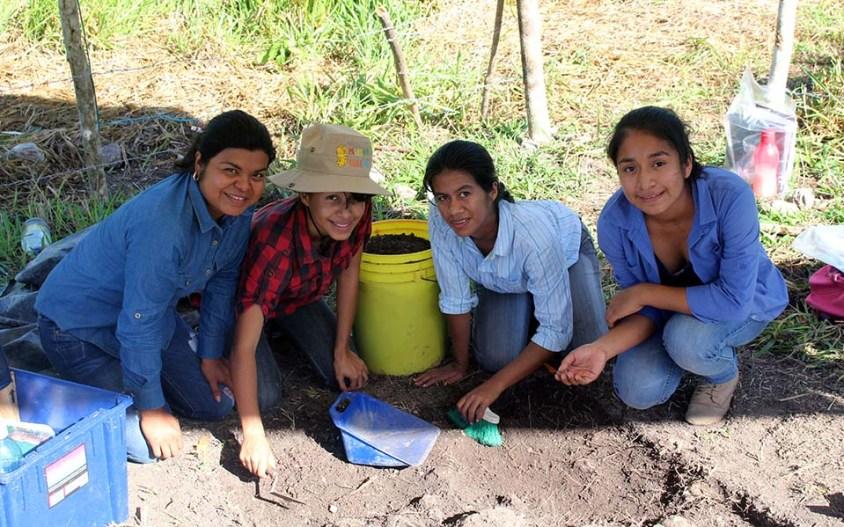 Excavations, Day 1, 2015