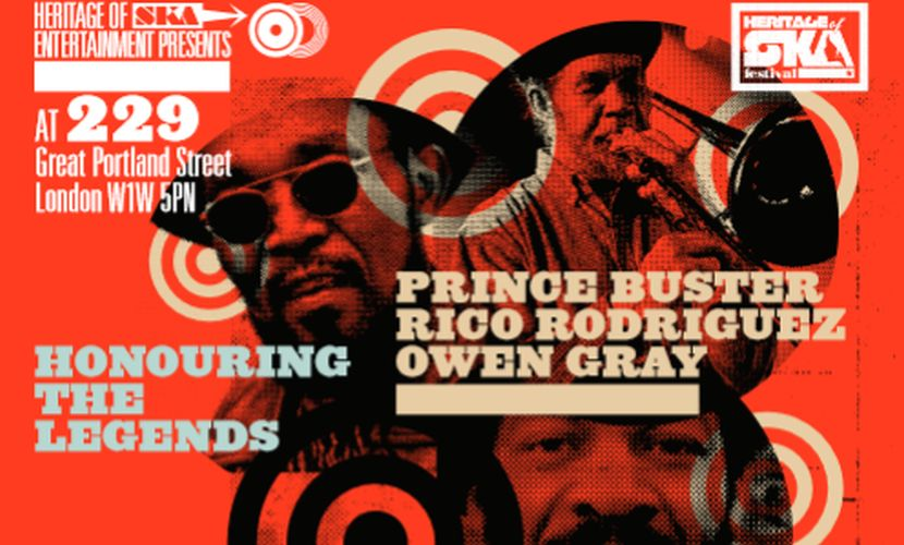 Owen Gray Prince Buster Memory Lane Featuring Owen Gray
