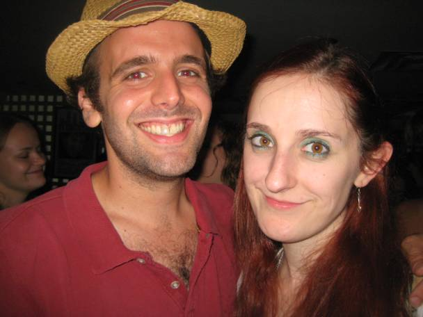 Sharon Jamilkowski with Gregory Quinn at the Live Show on July 24th, 2010
