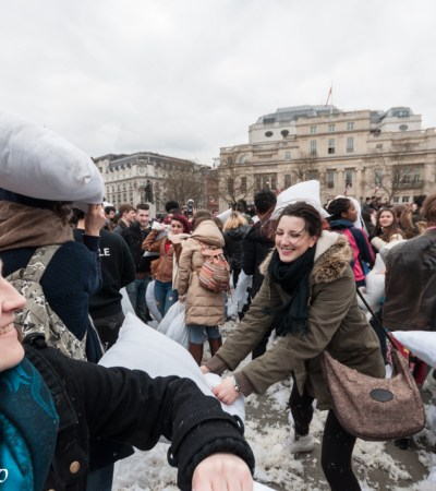 International Pillow Fight Day – London