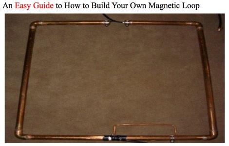 W2bri Magnetic Loop Homebrewing Guide Iw5edi Simone
