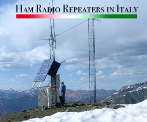 ham radio repeaters italy