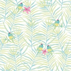 Small Crop Of Palm Leaf Wallpaper