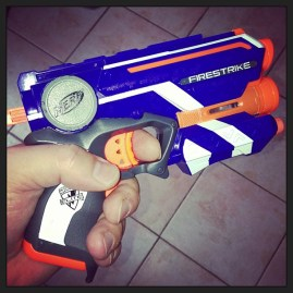 I have a nerf gun but what to shoot??
