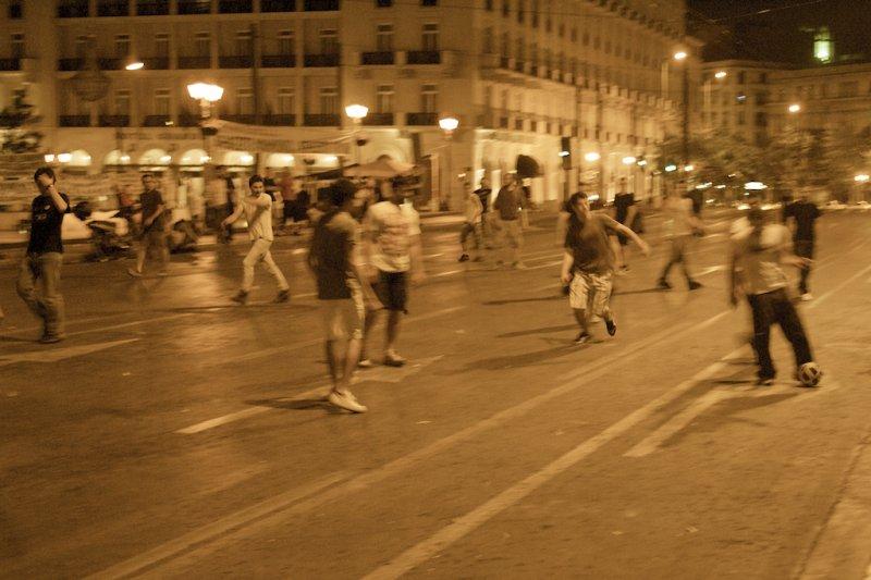 Late Night Street Football