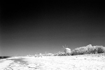 Windmills at the Beach I