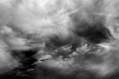 Ominous Clouds upon a Blackened Sky