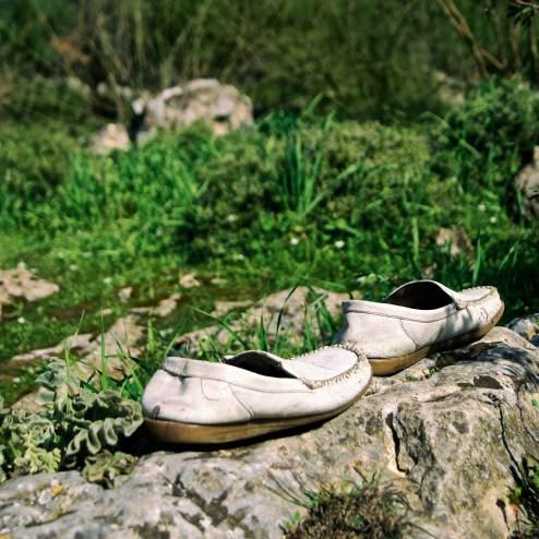 Abandoned Shoes