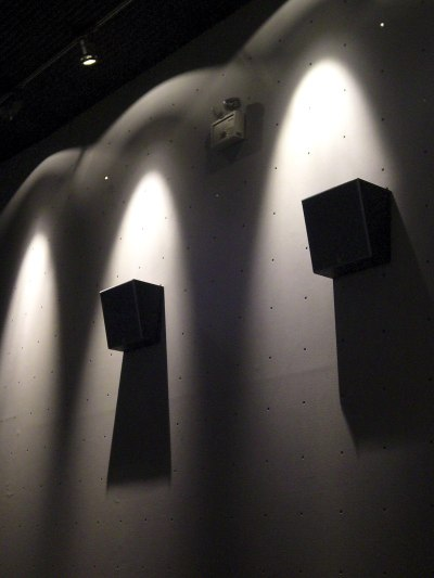 Spotlights and Speakers
