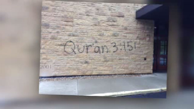Quran 3:151 Church Vandalized, Indiana