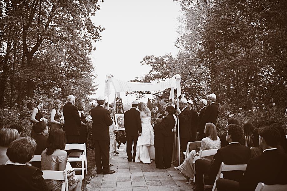gramercy outdoor ceremony