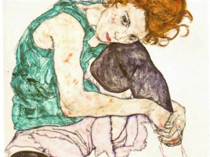 schiele-sitting-woman