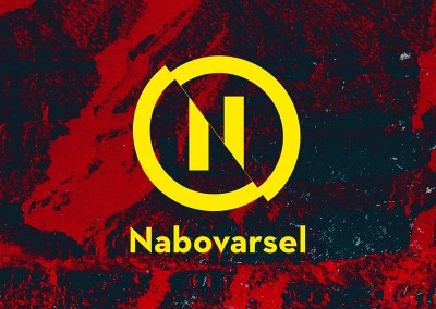 A moving brand: Nabovarsel