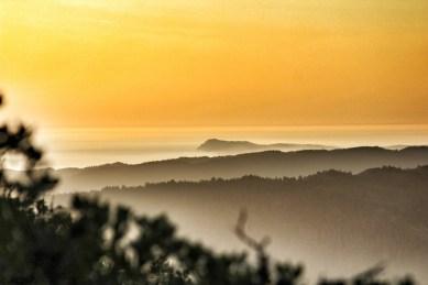 Descending Mt Tam