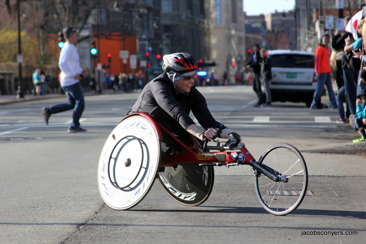Women's pushrim wheelchair lead