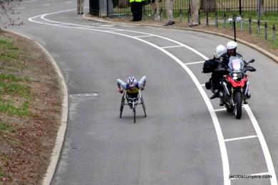 Women's pushrim wheelchair winner Tatyana McFadden