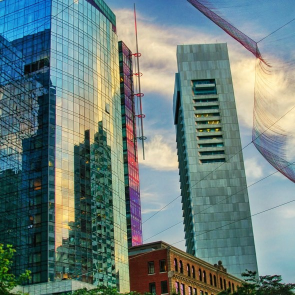 HDR on Rose Kennedy Greenway