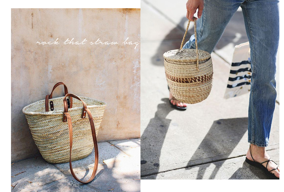 Summer Trend Straw Bags