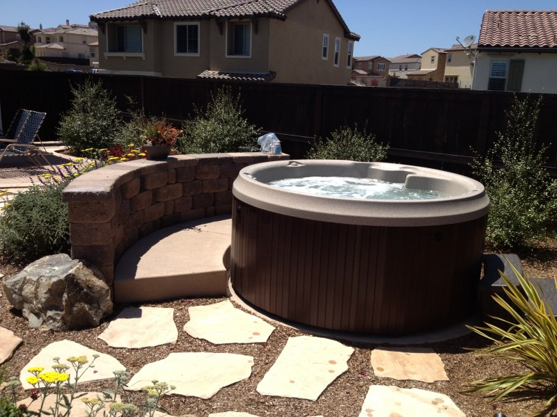 Large Of Round Hot Tub