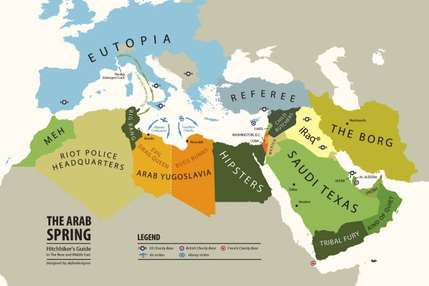 Arab Spring (June 2011) - Mapping Stereotypes | Alphadesigner