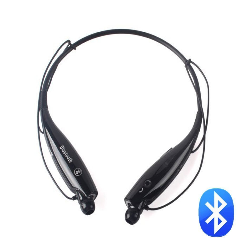 universal neckband style bluetooth stereo headset earphone headphone with vibration hv 800. Black Bedroom Furniture Sets. Home Design Ideas