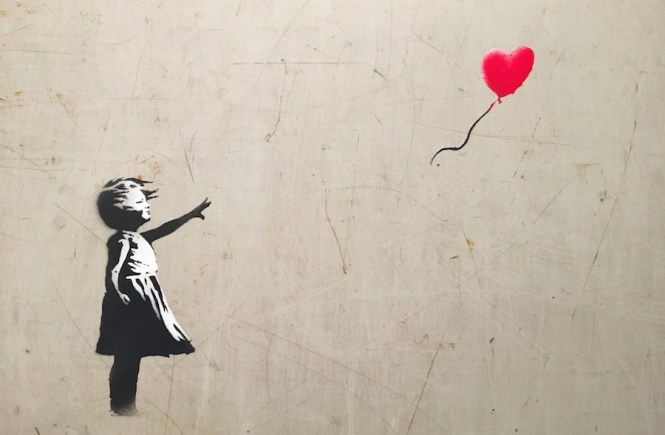 The opening exhibition at Moco Amsterdam Museum features street artist, Banksy, and pop artist, Andy Warhol side-by-side!