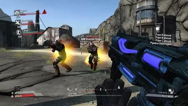 lalu bagaimana dengan bentuk permainannya apakah cukup menarik dan seru kemudian apa yang membedakannya game shooter
