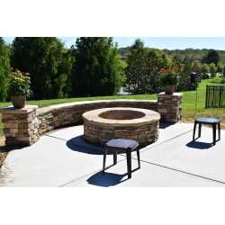 Small Crop Of Stone Fire Pit