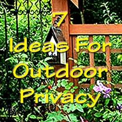 outdoor privacy ideas