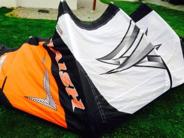 Naish cult réparé - aile de kitesurf